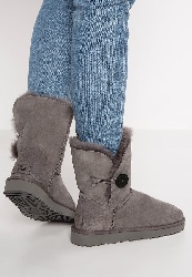 UGG BAILEY BUTTON II Bottines grey
