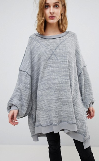 Free People - So Fresh - Top oversize