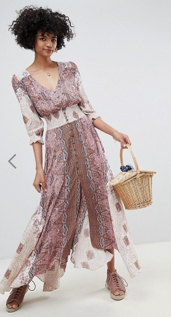 Free People - Mexicali Rose - Robe longue