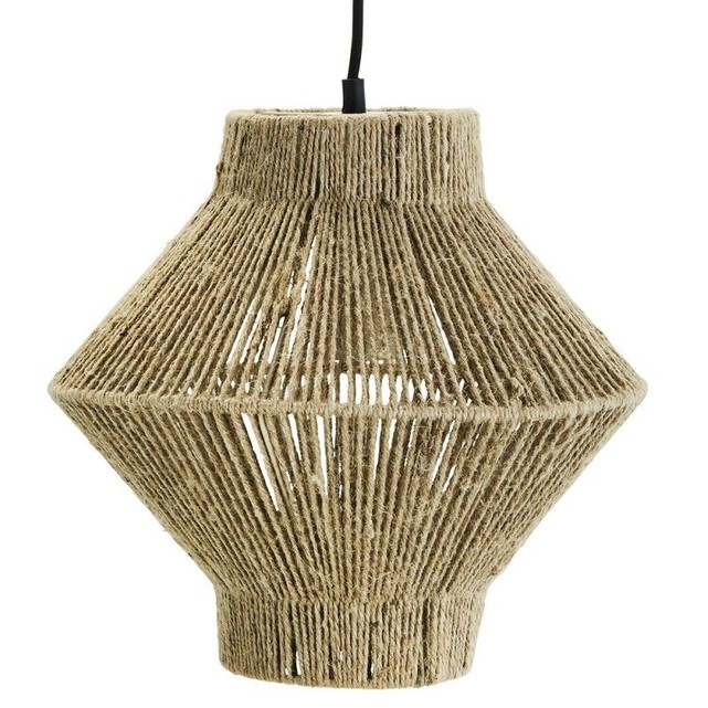 Suspension style bohème en jute naturel