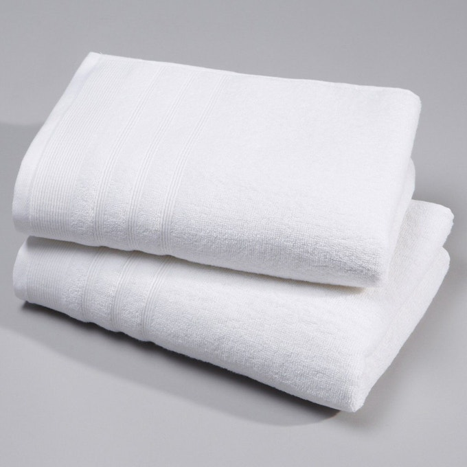 Serviette éponge 600 g/m², lot de 2