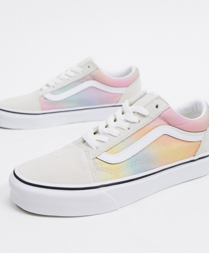 Vans - Old Skool - Baskets à effet tie-dye - Multicolore