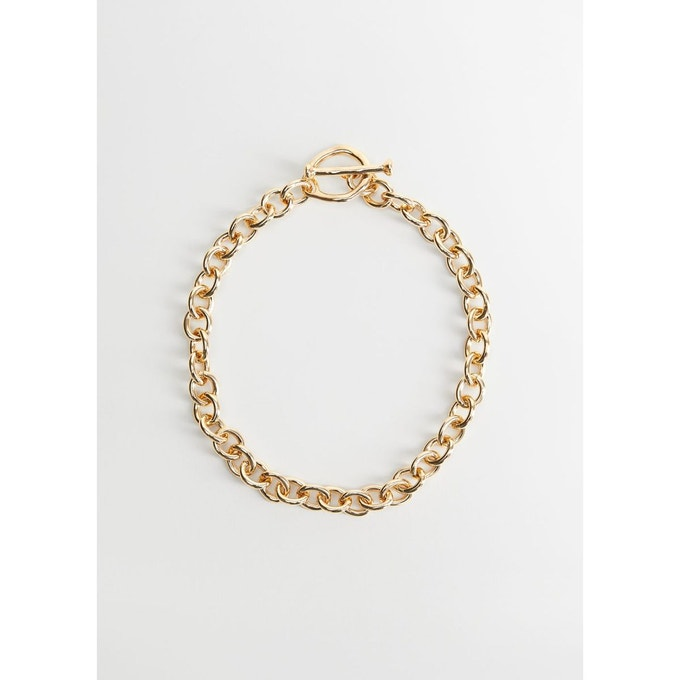 Collier chaîne maillons
